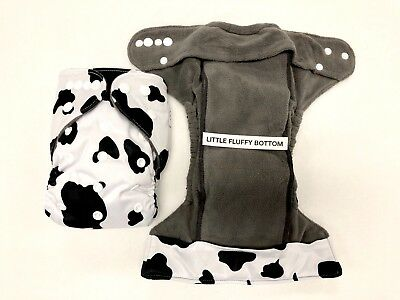 NEW Custom Happy Flute HEAVY WETTERS Size One, Adjustable Cloth Diaper