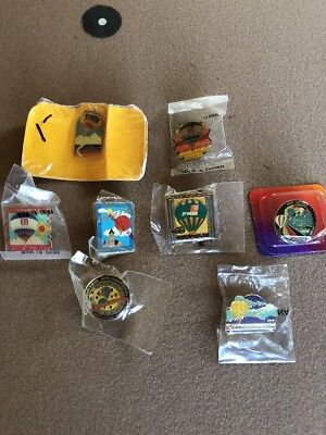 Albuquerque Hot Air Balloon Pins Lot If 8