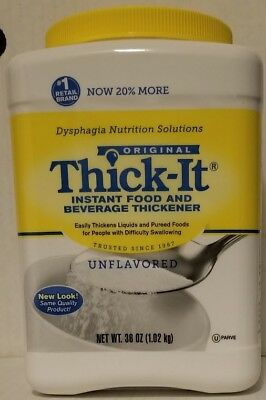 THICK-IT - Instant Food and Beverage Thickener - Unflavored - 36 Oz