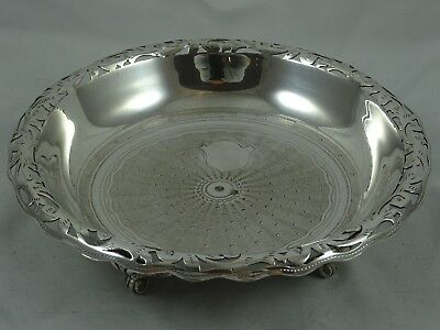 TURKISH, solid silver BOWL, c1880, 223gm