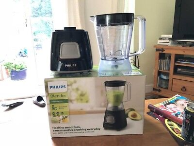 Philips Daily Collection Blender 350W 1.25L Plastic Jar Juicer Mixer HR2052/91