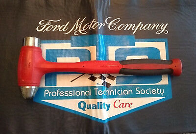 Snap-on 40 oz Dead Blow Ball Peen Soft Grip Hammer - HBBD40