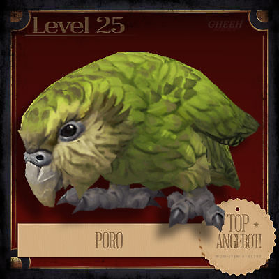 » Poro | World of Warcraft | WoW | Battle for Azeroth | Haustier | Pet | L25 «