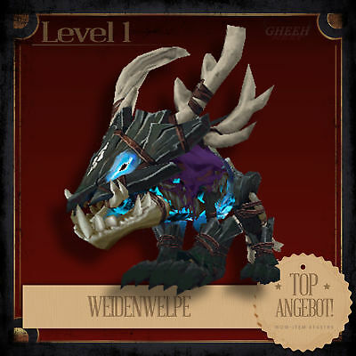 » Weidenwelpe | Wicker Pup | World of Warcraft | WoW Patch 8.0 | Haustier Pet «