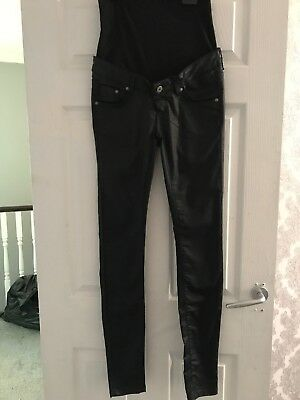 Supermom Maternity Leather Trousers 26waist New!