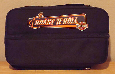 WOW---NEW Harley Davidson Roast 'N' Roll Saddlebag Coffee Thermos and Set