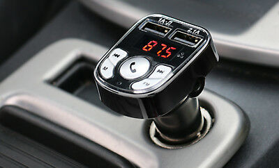 Armor All Bluetooth 2 in 1 Fm Transmitter & Car Charger 3.1 AMP & 2 Charging USB