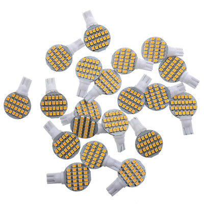 20pcs T10 194 921 W5W 24 1210 SMD LED Blanc RV Amenagement ampoule lampe R8B9
