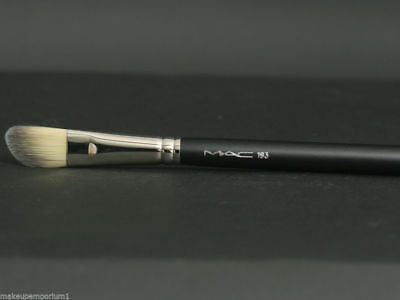 Mac 193 Angled Foundation Brush - New In Sleeve - Discontinued