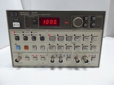 AGILENT / HP 3314A 1 MHz - 20 MHz PROGRAMMABLE FUNCTION GENERATOR
