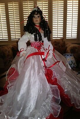 Paradise Galleries Ashley Bell by Donna Rubert doll 24 in