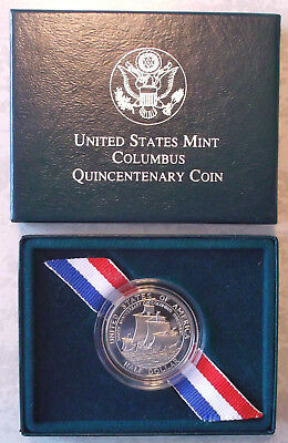 USA - $ 1/2 Half Dollar 1992 S 500 Jahre Kolumbus - Quincentenary Proof Set OVP