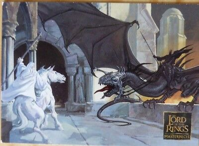 Lord of the Rings Topps Masterpieces 2006 PROMO CARD P1 Advertising Cards