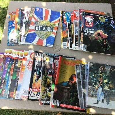 Pre-owned Vintage Comics Job Lot  Of 49 Various