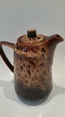 Vintage Fosters pottery coffe jug
