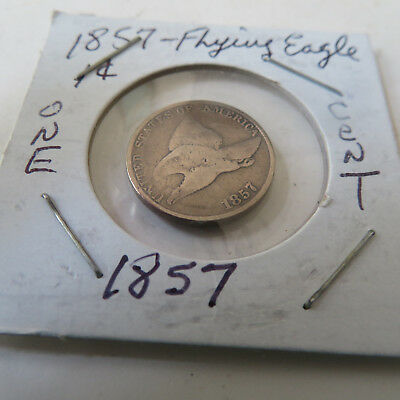 Coin U.s.  1857    Flying Eagle  One Cent