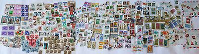 Collection of Postage Stamps ~ Middle East, USA, Japan, Europe ~ Old Vintage