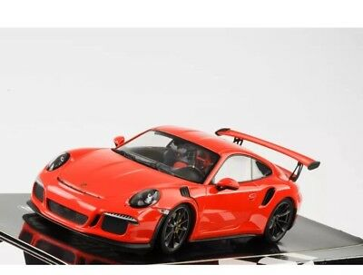 New 1/18 Minichamps 2015 Porsche 911(991) GT3 RS Lava Orange Limited 2,004pcs