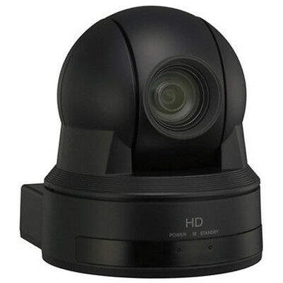 Sony EVI-H100V HD PTZ Camera with remote control and power adapter