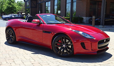 2015 Jaguar F-Type Loaded -- all options Jaguar F-Type 2dr Convertible V8 S PRISTINE LOADED w/mfgr warranty