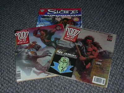 Best of 2000 AD Monthly - 2 Issues -  No's 81 & 93 + Slaine The Poster Prog