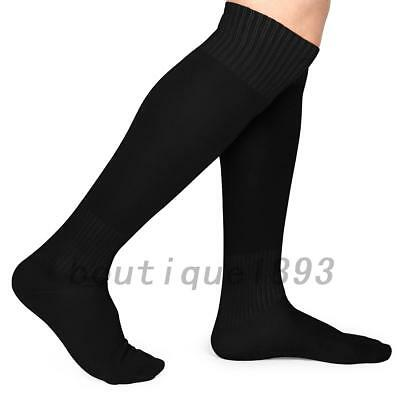 b5dbffacd77 Men Athletic Sport Football Soccer Long Socks Over Knee High Sock Training  Soft