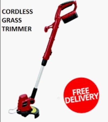 Lithium- Ion Electric Cordless Battery Powered Grass Trimmer Cutter 18V