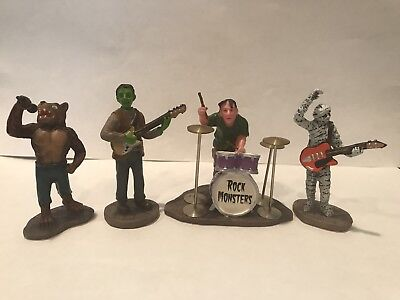 Lemax Spooky Town Rock Monsters Retired USED