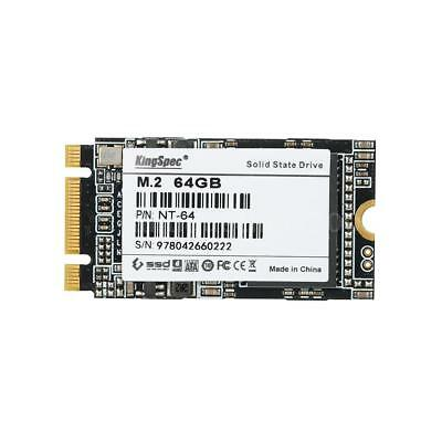 KingSpec 64GB 42mm M.2 NGFF SSD Solid State Drive NAND Flash for PC Laptop R1Z1