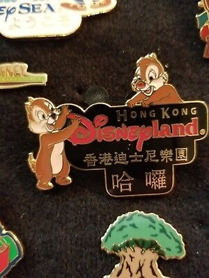 Disneyland Hong Kong Chip and Dale
