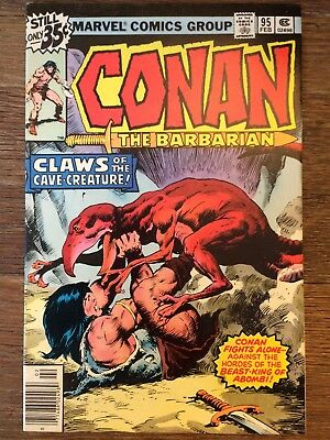 Conan #95 *Claws of the Cave Creature* *BRONZE AGE Auction Event L@@K*