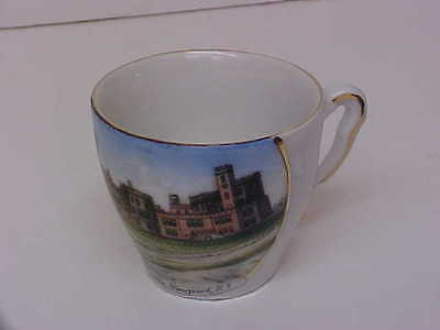 """Old Nice Altenburg, Germany China Souvenir Cup -""""the Castle, Newport, R.i."""""""