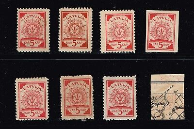 LATVIA STAMP Collection Lot   -1
