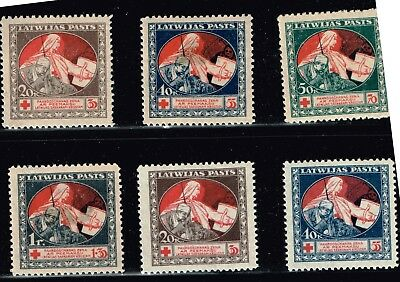 LATVIA STAMP Collection Lot   6