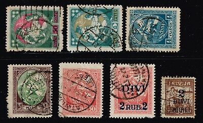 LATVIA STAMP Collection Lot   -10