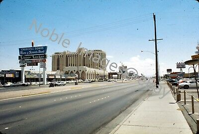 1976 Aladdin Hotel Casino Band Chicago Marquee Las Vegas Ektachrome Slide
