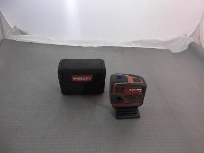 HILTI PMP 34 Point Laser In Staw Away Bag