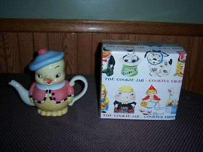 Nib Dept 56 So Tweet Chick Teapot Cookies From The Cookie Jar Collection