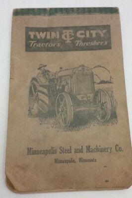 Twin City Tractors Minneapolis Steel & Machinery Co. Advertising Threshers
