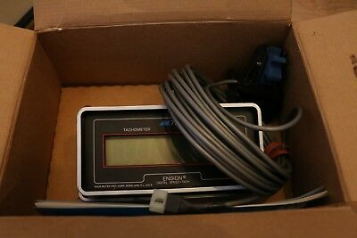 Vintage Aqua Meter Ensign Digital Speed Tach Model 750