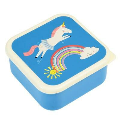 NEW Rex London Snack Boxes - Unicorn (set of 3)