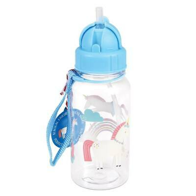 NEW Rex London Water Bottle - Unicorn
