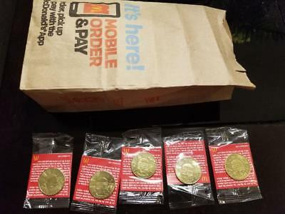 McDONALDS BIG MAC 50th ANNIVERSARY COIN  MACCOIN MACCOINS PICK YOUR OWN COINS!!