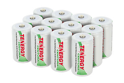Tenergy Centura D 8000mah Low Self-Discharge NiMH Rechargeable Batteries lot