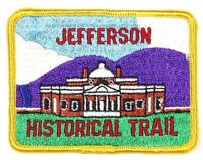 Jefferson Historical Trail Patch (8038)