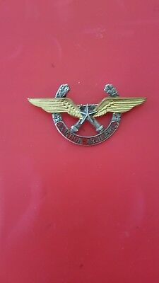 Insigne militaire brevet Aviation Artillerie émail Drago Paris