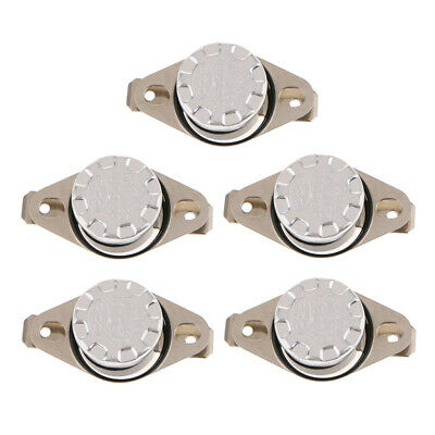 5Pcs 250V 10A Normally Closed Thermostat Temperature Thermal Switch KSD301