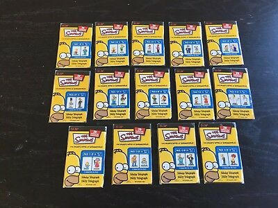 2004 The Simpsons 3D Collectors Trading Cards From The Daiy Telegraph