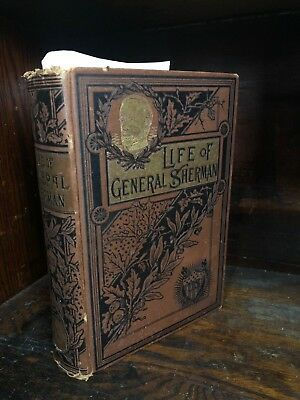 Life of General Sherman 1891 James P. Boyd, A.M. Hardcover