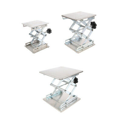 Lab Stand Table Scissor Lifting Platform laboratory Jack 3 Sizes Equipment